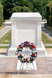 La tombe du soldat inconnu au cimetière national d'Arlington photo stock