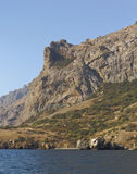 La topografia bizzarra delle rocce, costituita da roccia vulcanica immagine stock libera da diritti
