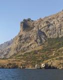 La topographie bizarre des roches, constituée par la roche volcanique image libre de droits