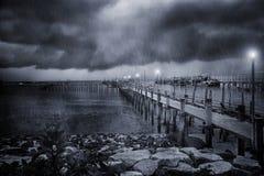 La tormenta Fotografía de archivo libre de regalías