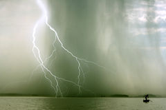 La tormenta Fotos de archivo