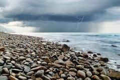 La tormenta adentro llega imagen de archivo
