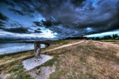 La tormenta de acopio imagen de archivo