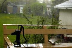 La tormenta de la lluvia Imagen de archivo libre de regalías