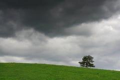 La tormenta está viniendo Fotografía de archivo