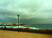 La tormenta está viniendo Foto de archivo libre de regalías