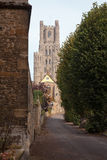 La torre ad ovest, Ely Cathedral, Cambridgeshire Immagine Stock