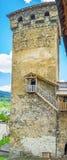 La torre alta di Svan Immagini Stock Libere da Diritti