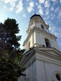 La torre, basílica del campanario en Chelm imagenes de archivo