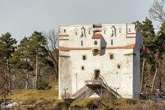 La torre bianca Fotografia Stock