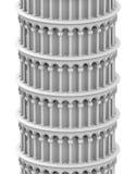 La torre bianca Immagini Stock
