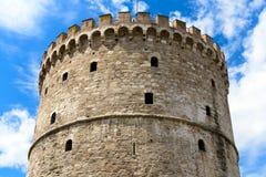 La torre bianca Immagine Stock Libera da Diritti