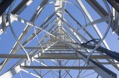 La torre cellulare Fotografia Stock Libera da Diritti