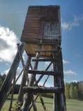 La torre cercante immagine stock