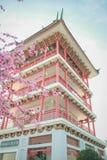 La torre china Foto de archivo libre de regalías