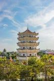 La torre china Imagen de archivo libre de regalías