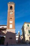 La torre civica del montiano Fotografia Stock Libera da Diritti