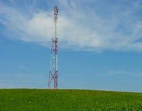 La torre con el equipo Imagen de archivo libre de regalías