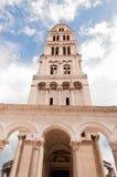 La torre dal palazzo di Diocleziano, spaccatura, Croazia Fotografia Stock
