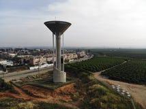La torre de agua Foto de archivo libre de regalías