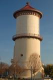 La torre de agua histórica en Fresno, California Imagenes de archivo
