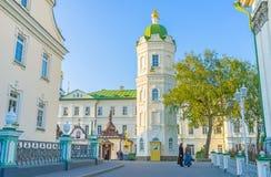La torre de agua de Pochayiv Lavra Foto de archivo libre de regalías