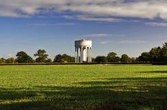 La torre de agua vieja Imagen de archivo libre de regalías