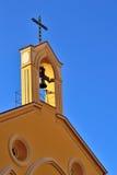 La torre de alarma de iglesia fotos de archivo