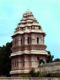La torre de la entrada del palacio del maratha del thanjavur Imagen de archivo