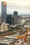 La torre de Eureka en Melbourne Foto de archivo libre de regalías