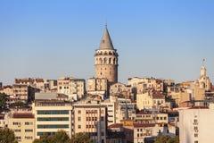 La torre de Galata Fotos de archivo