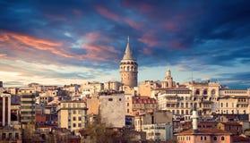 La torre de Galata Imágenes de archivo libres de regalías