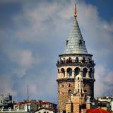 La torre de Galata Imagen de archivo libre de regalías
