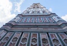 La torre de Giotto en Florence Giottos Campanile Imagen de archivo