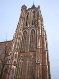 La torre de iglesia vieja en Gorinchem. foto de archivo