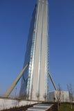 La torre de Isozaki en Citylife; Milano Imágenes de archivo libres de regalías