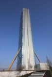 La torre de Isozaki en Citylife; Milano Fotos de archivo