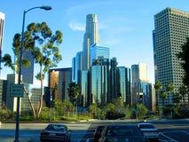 La torre de la biblioteca, centro municipal, Los Ángeles, Calfornia Foto de archivo libre de regalías