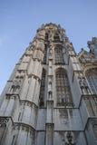 La torre de la catedral de Amberes foto de archivo libre de regalías