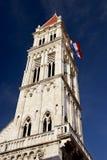 La torre de la catedral del St. Lorenzo Fotos de archivo libres de regalías