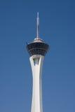 La torre de la estratosfera en Las Vegas Imagen de archivo libre de regalías