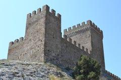 La torre de la fortaleza Fotografía de archivo