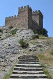 La torre de la fortaleza Fotos de archivo libres de regalías