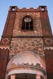 La torre de la iglesia parroquial de Dagenham Fotos de archivo