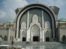 La torre de la mezquita Fotos de archivo