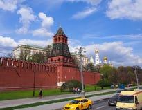 La torre de la Moscú el Kremlin Fotos de archivo