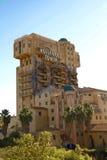La torre de la zona crepuscular del terror imagen de archivo