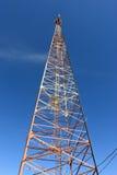 La torre de las telecomunicaciones fotos de archivo libres de regalías