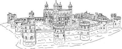 La torre de Londres Foto de archivo libre de regalías