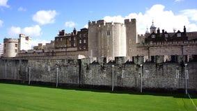 La torre de Londres Imagen de archivo libre de regalías